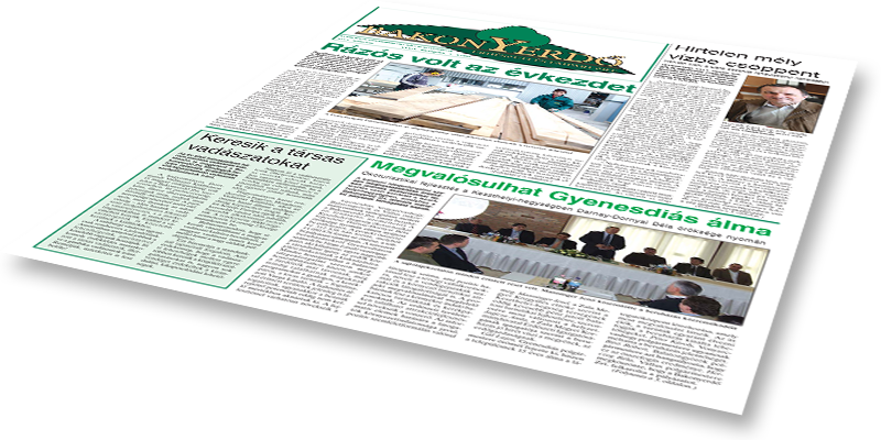 Bakonyerdő Zrt. - Vállalati újság 2013 március