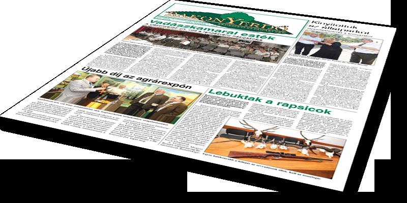 Bakonyerdő Zrt. - Vállalati újság 2013 június
