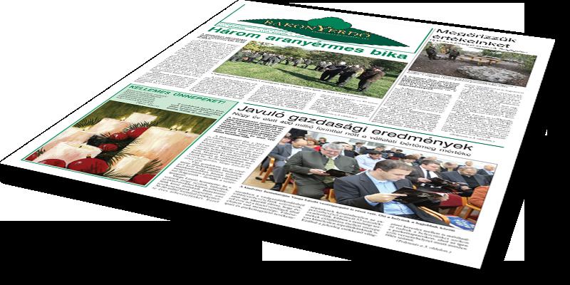 Bakonyerdő Zrt. - Vállalati újság 2013 december