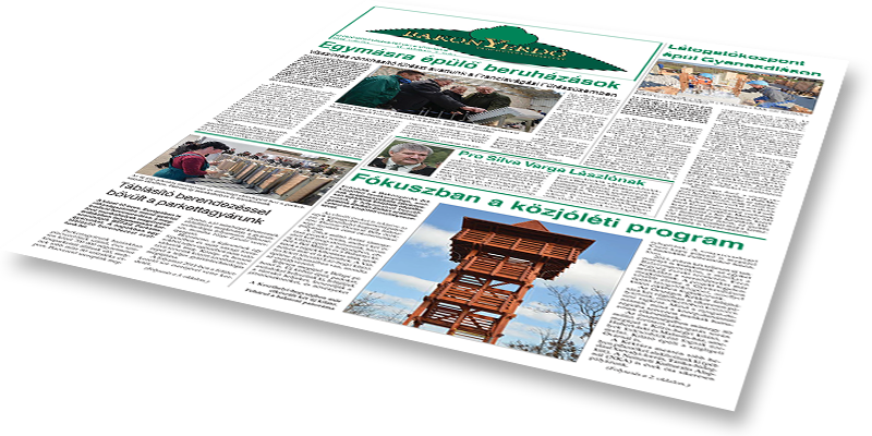Bakonyerdő Zrt. - Vállalati újság 2014 március