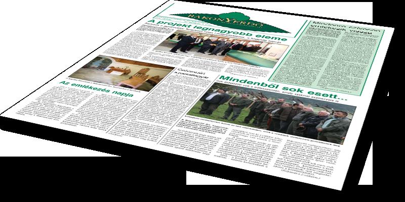 Bakonyerdő Zrt. - Vállalati újság 2014 október