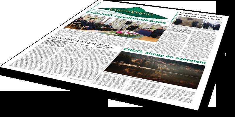 Bakonyerdő Zrt. - Vállalati újság 2015 március