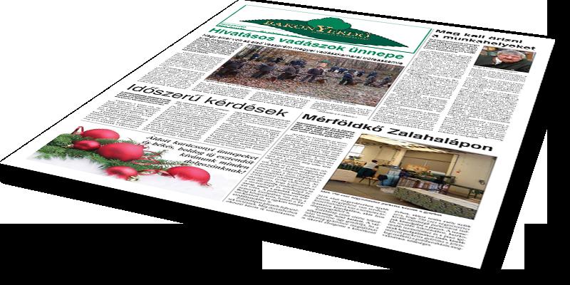 Bakonyerdő Zrt. - Vállalati újság 2015 december