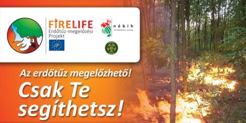 Átmeneti tűzgyújtási tilalom erdeinkben