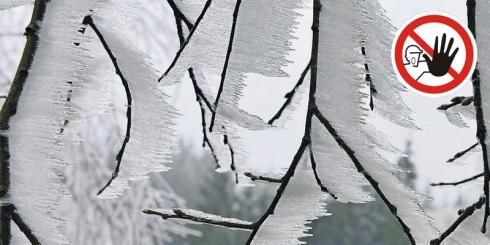 FIGYELEMFELHÍVÁS az elmúlt napok havazása miatt