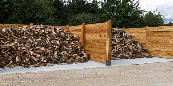 Feldolgozott tűzifa