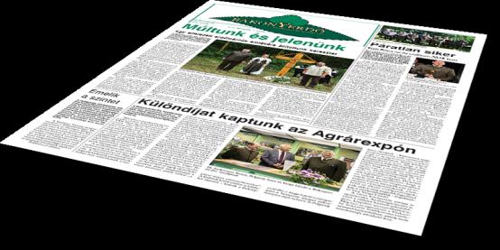 Bakonyerdő Zrt. - Vállalati újság 2018 július