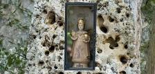Gyermek Jézus kegyhely a Koloska-völgyben